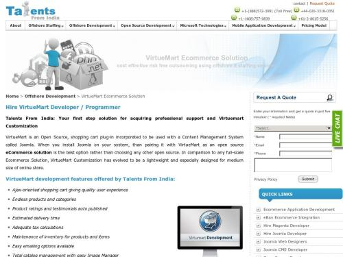 www.talentsfromindia.com/virtue-mart-ecommerce-solution.html